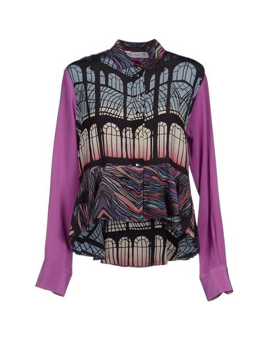 LEITMOTIV Camisas y blusas de seda