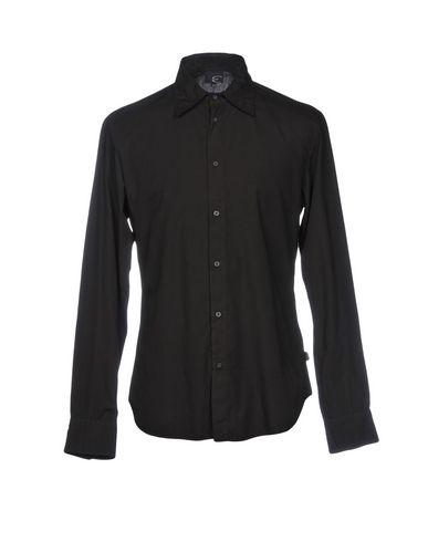 Billig Verkauf Billig JUST CAVALLI Einfarbiges Hemd Billig Verkauf Bester Verkauf oPXbfzwMQ