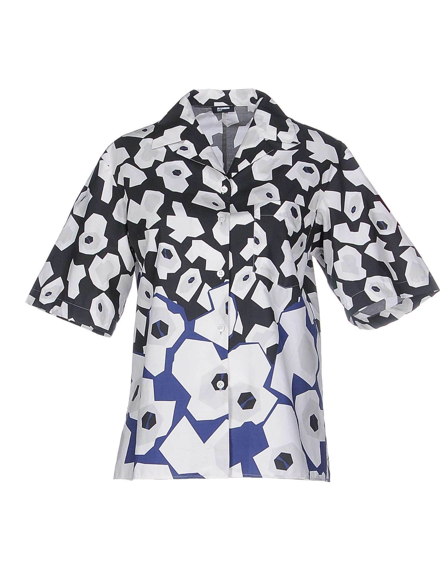 Camicie  E bluse Fantasia Jil Sander Navy Navy donna - 38485099IH