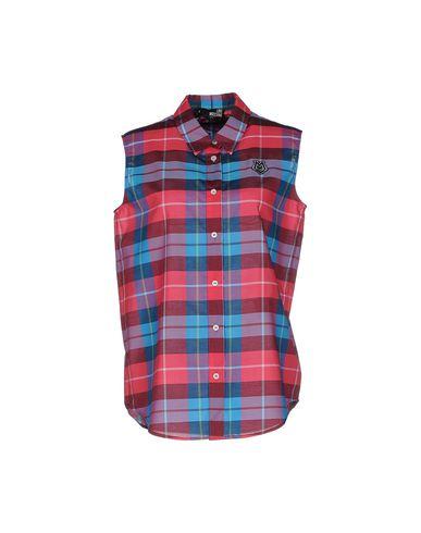 Moschino Kjærlighet Rutete Skjorte gratis frakt beste rabatt salg mange typer klaring falske O9y8b5