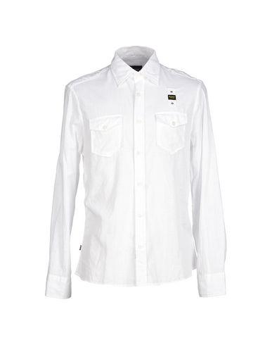 BLAUER Camisa lisa