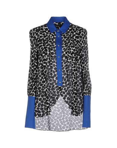 FRANCESCO SCOGNAMIGLIO Patterned Shirts & Blouses in Black