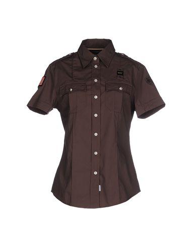 BLAUER Hemden und Blusen einfarbig Exklusiv Aberdeen Verkauf Der Neuen Ankunft Billig Verkaufen Billig XjFUKbwNz