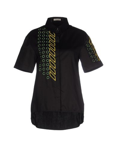 EMMA COOK Solid Color Shirts & Blouses in Black