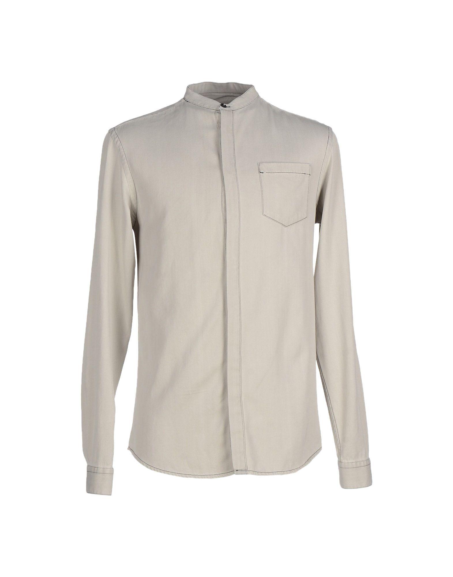 Camicia Tinta Unita Pierre Balmain Uomo - Acquista online su