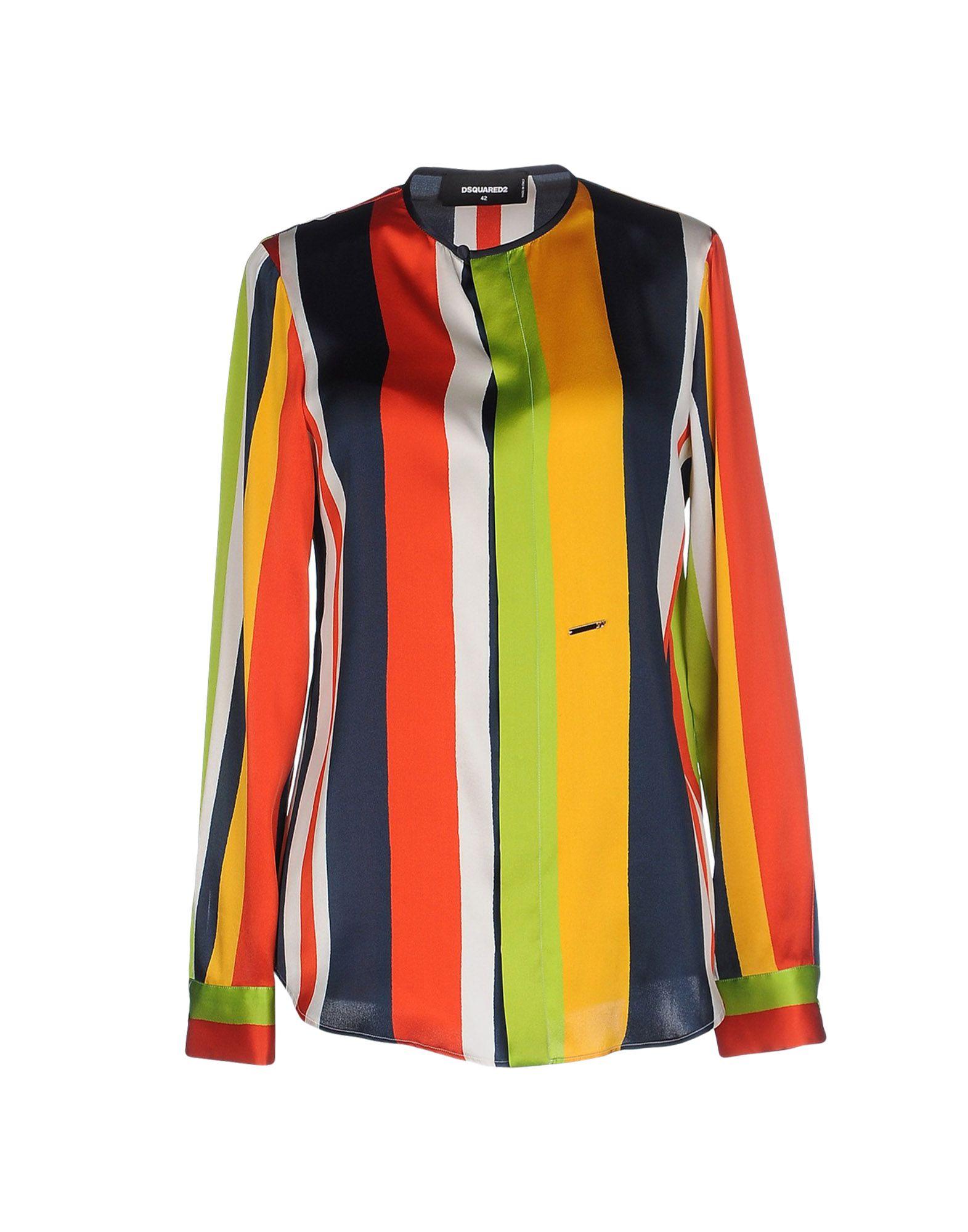 Camicia A Righe Dsquared2 Donna - Acquista online su 0iq308m