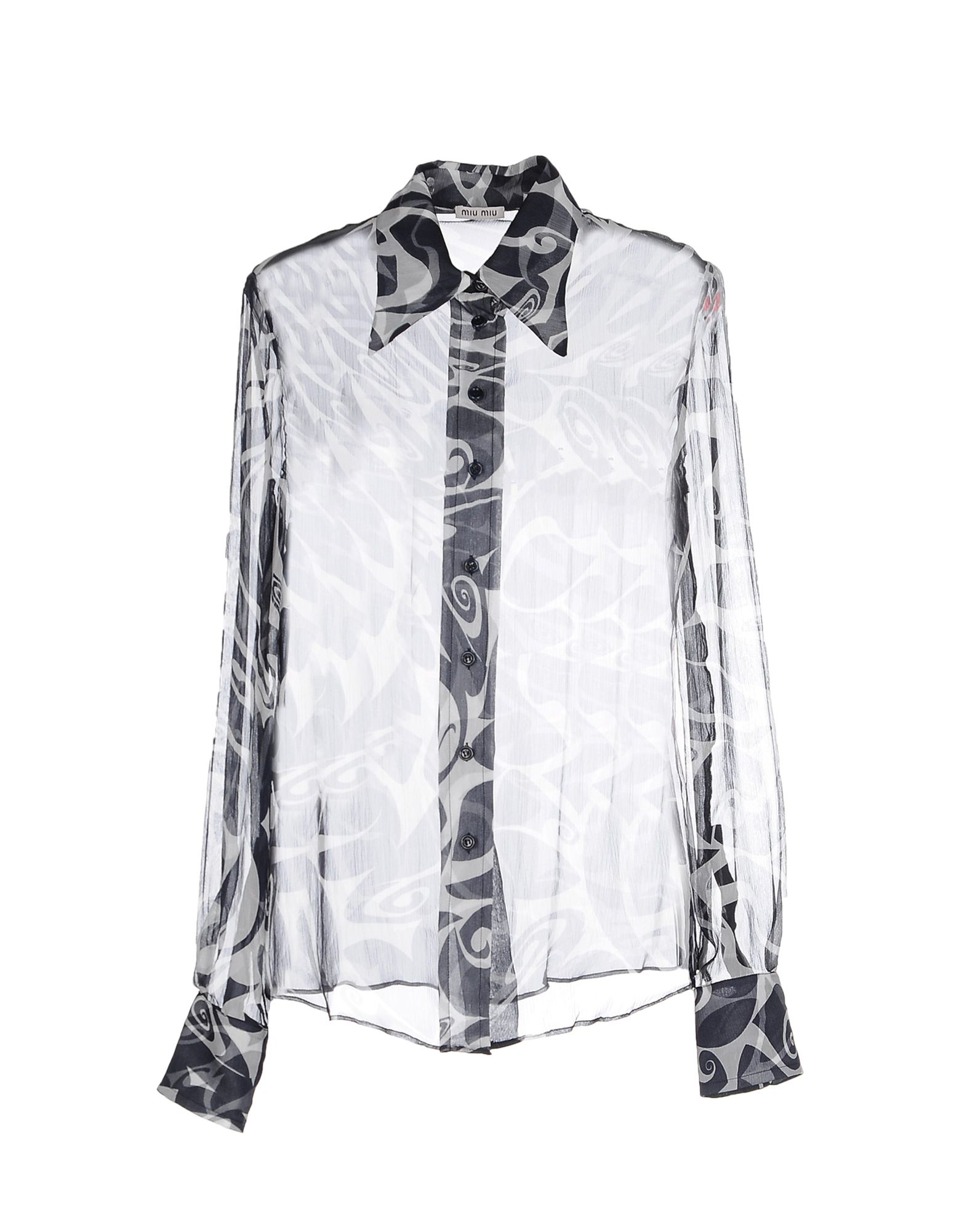 232b861dba1 Miu Miu Patterned Shirts   Blouses - Women Miu Miu Patterned Shirts ...