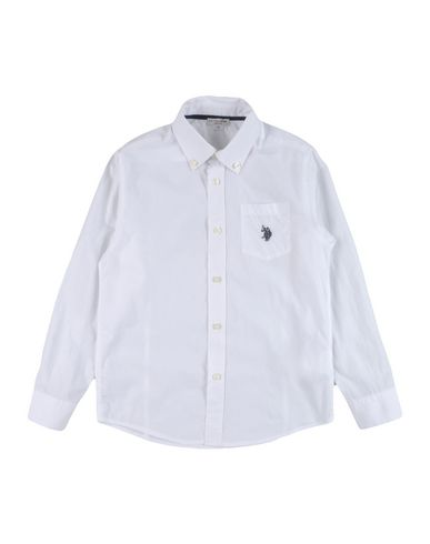 a664e5a9 U.S.Polo Assn. Solid Colour Shirt Boy 9-16 years online on YOOX Norway