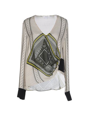 DEREK LAM 10 CROSBYシルクシャツ&ブラウス