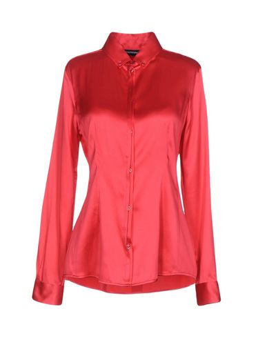EMPORIO ARMANI - Solid colour shirts & blouses