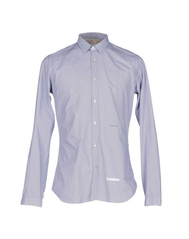 DNL Patterned Shirt in Blue
