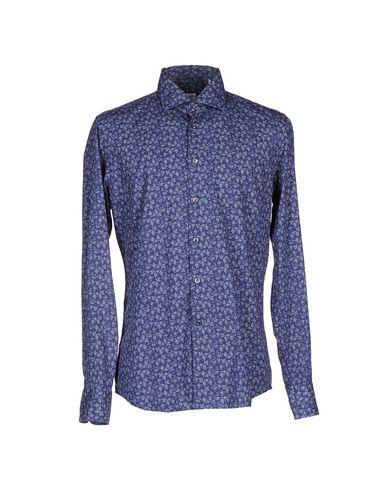 GLANSHIRT Patterned Shirt in Dark Blue