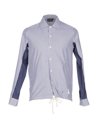 EJXIII Striped Shirt in Blue