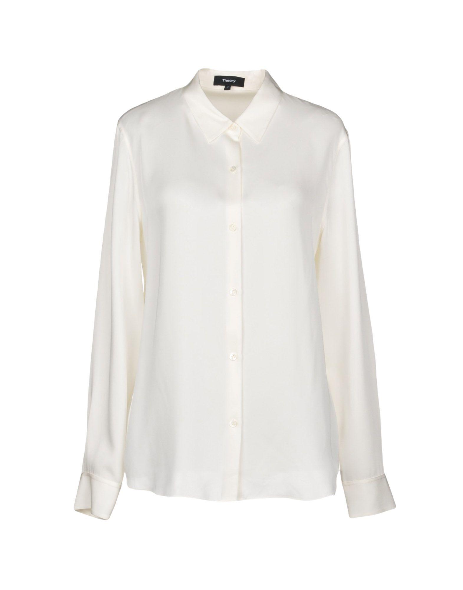 Camicie E Bluse In Seta Theory Donna - Acquista online su YIXHD43