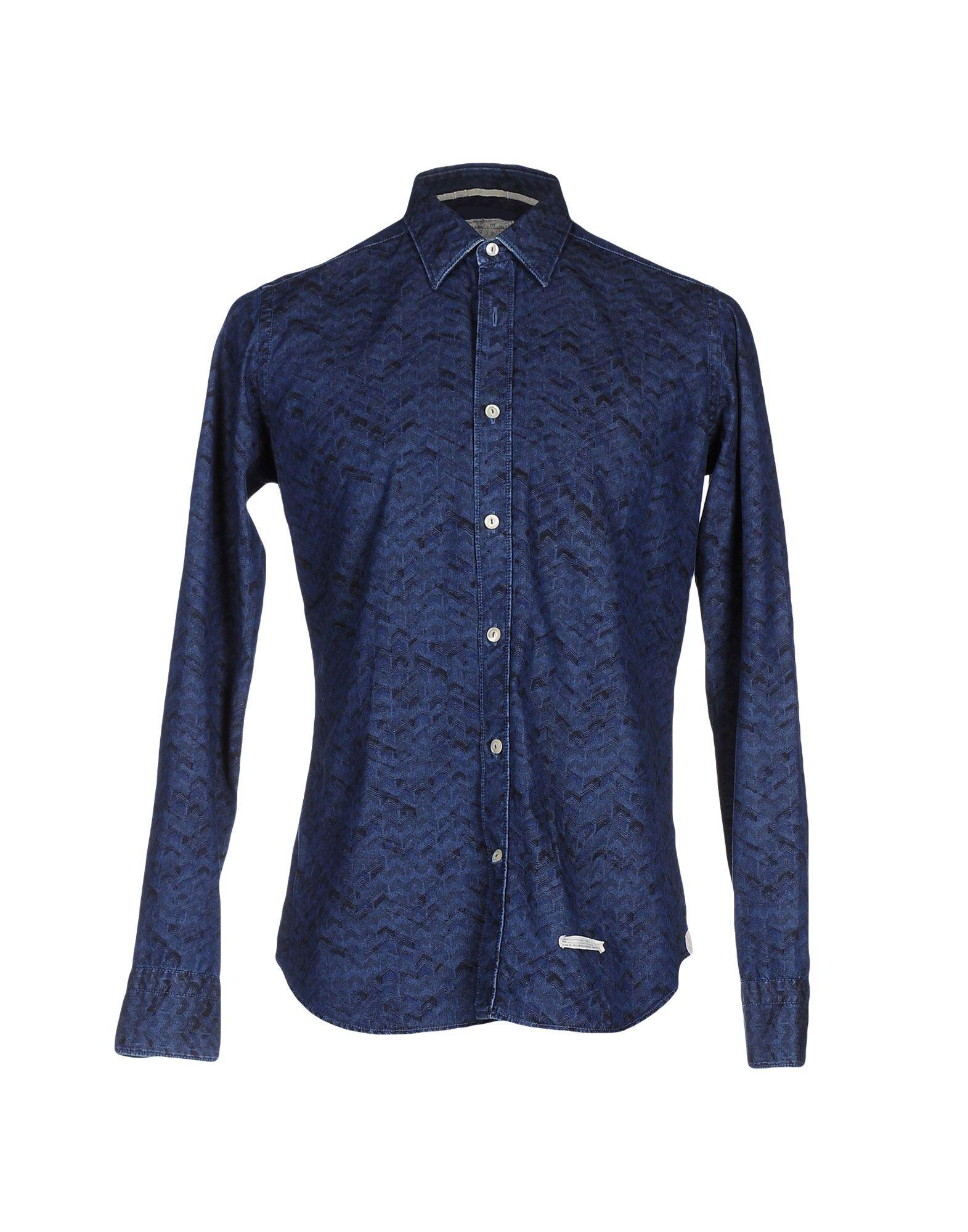 Camicia Jeans Tintoria Mattei 954 38553995VE Uomo - 38553995VE 954 1ec6ae