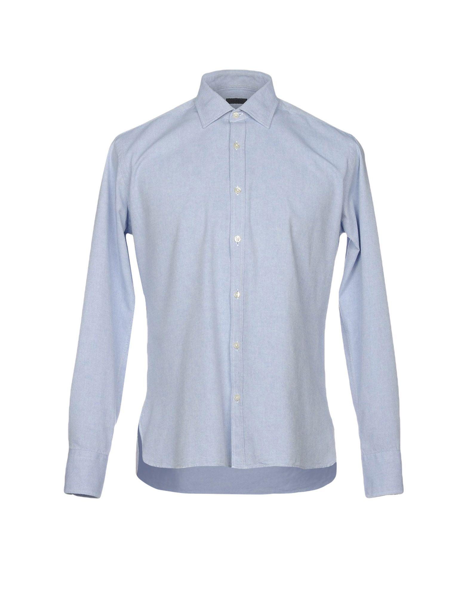 Camicia Tinta Unita Piombo Uomo - Acquista online su