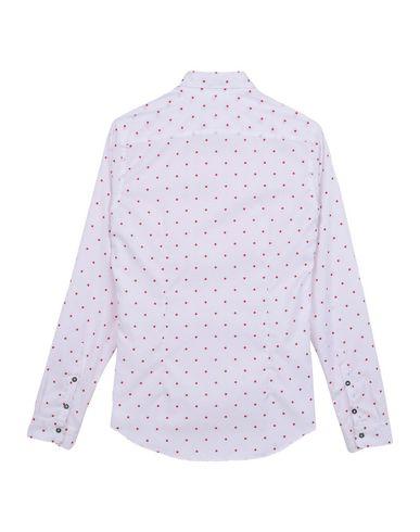 Preiswerter Preis Fabrikverkauf AGLINI Hemd mit Muster Freies Verschiffen Erschwinglich Günstig Kaufen Preis Freies Verschiffen Online-Shopping Wo Findet Man qieHg