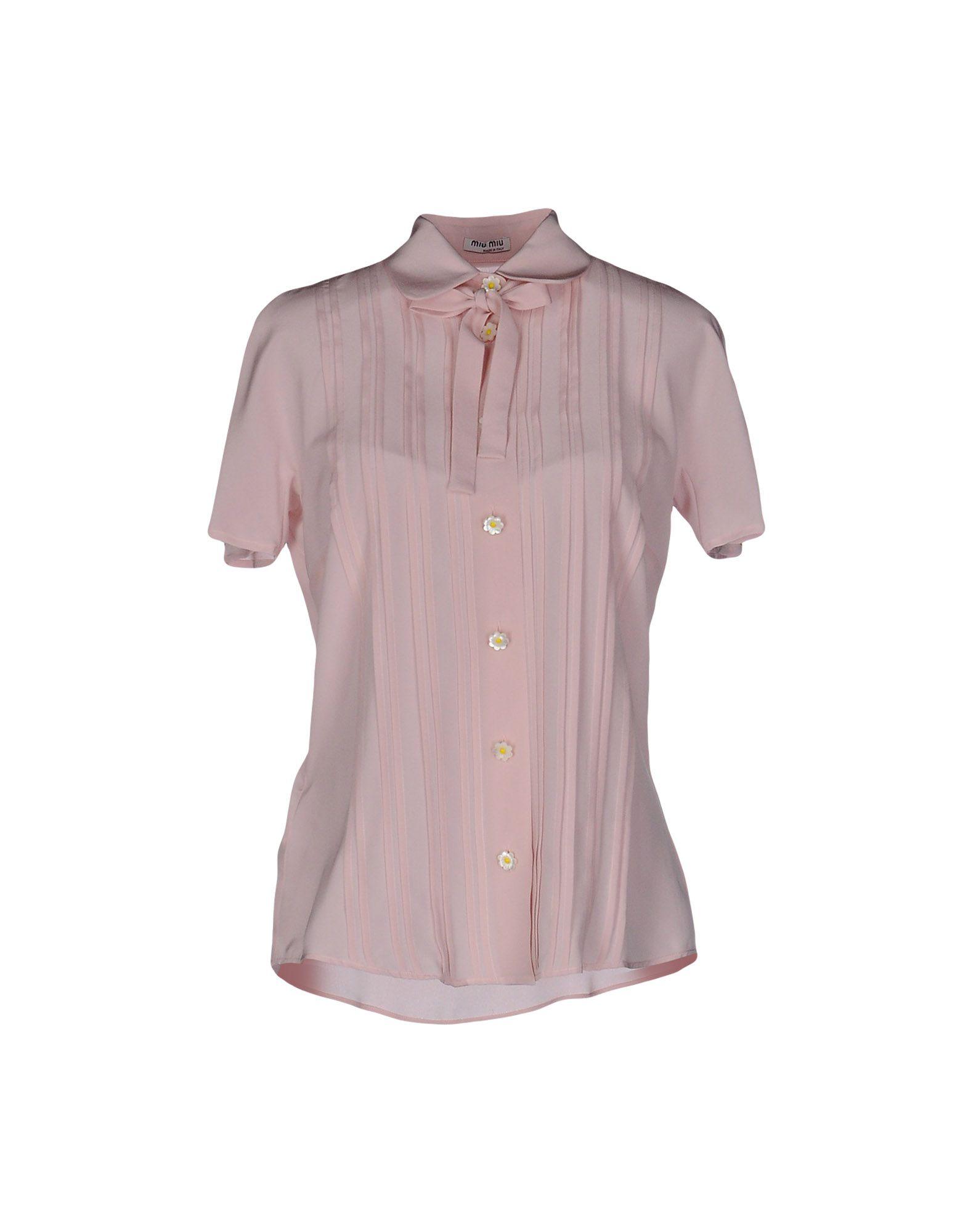 Camicie E bluse In In In Seta Miu Miu donna - 38561155PM 29d