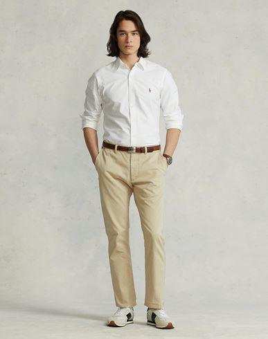 Ralph Lauren Unie Polo Blanc Chemise Couleur De ORddnwTq