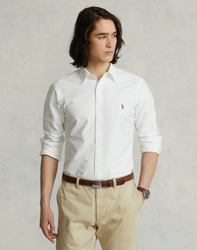rabatter billig pris gratis frakt billig Ralph Lauren Slim Fit Bomull Oxford Skjorte Camisa Lisa kjøpe billig nettsteder utløp hot salg butikk tilbyr online JSvdHtiPmI