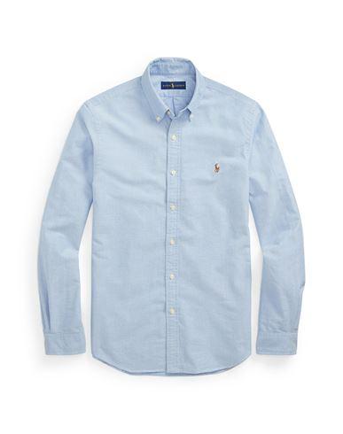 d4a03e75cab3 Polo Ralph Lauren Slim Fit Cotton Oxford Shirt - Solid Colour Shirt ...