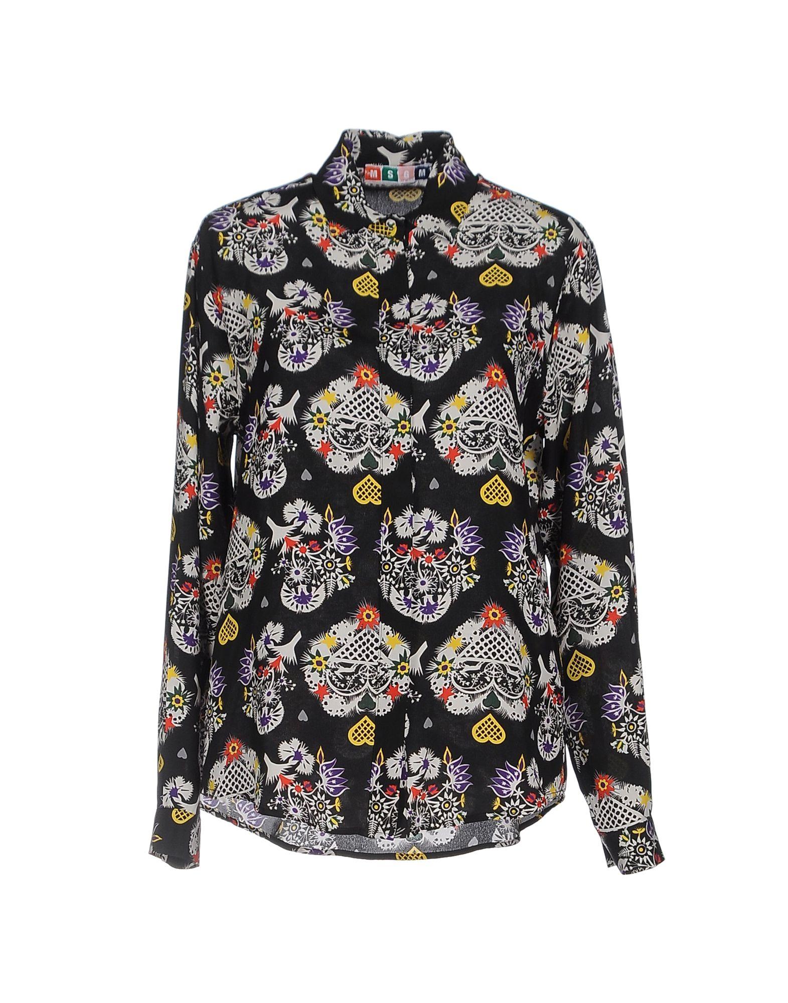Camicie E Bluse A Fiori Msgm Donna - Acquista online su o0JGYL5Ic