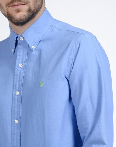 POLO RALPH LAUREN Einfarbiges Hemd