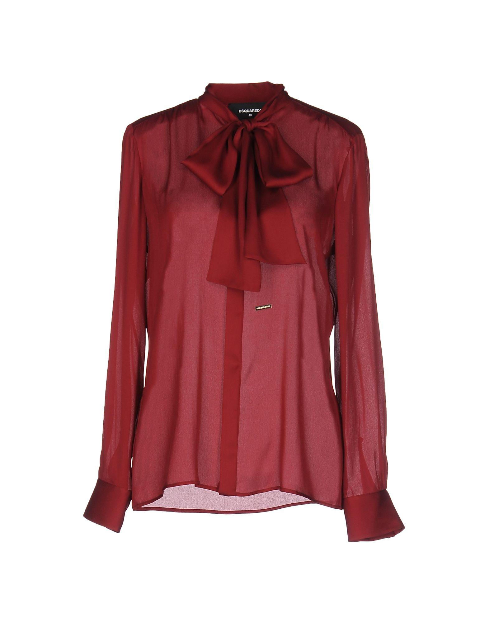 Camicie E bluse Con Con Fiocco Dsquarosso2 donna - 38574764EW