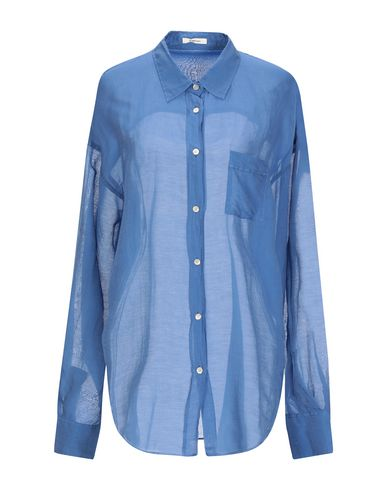 TRUE TRADITION Solid Color Shirts & Blouses in Blue