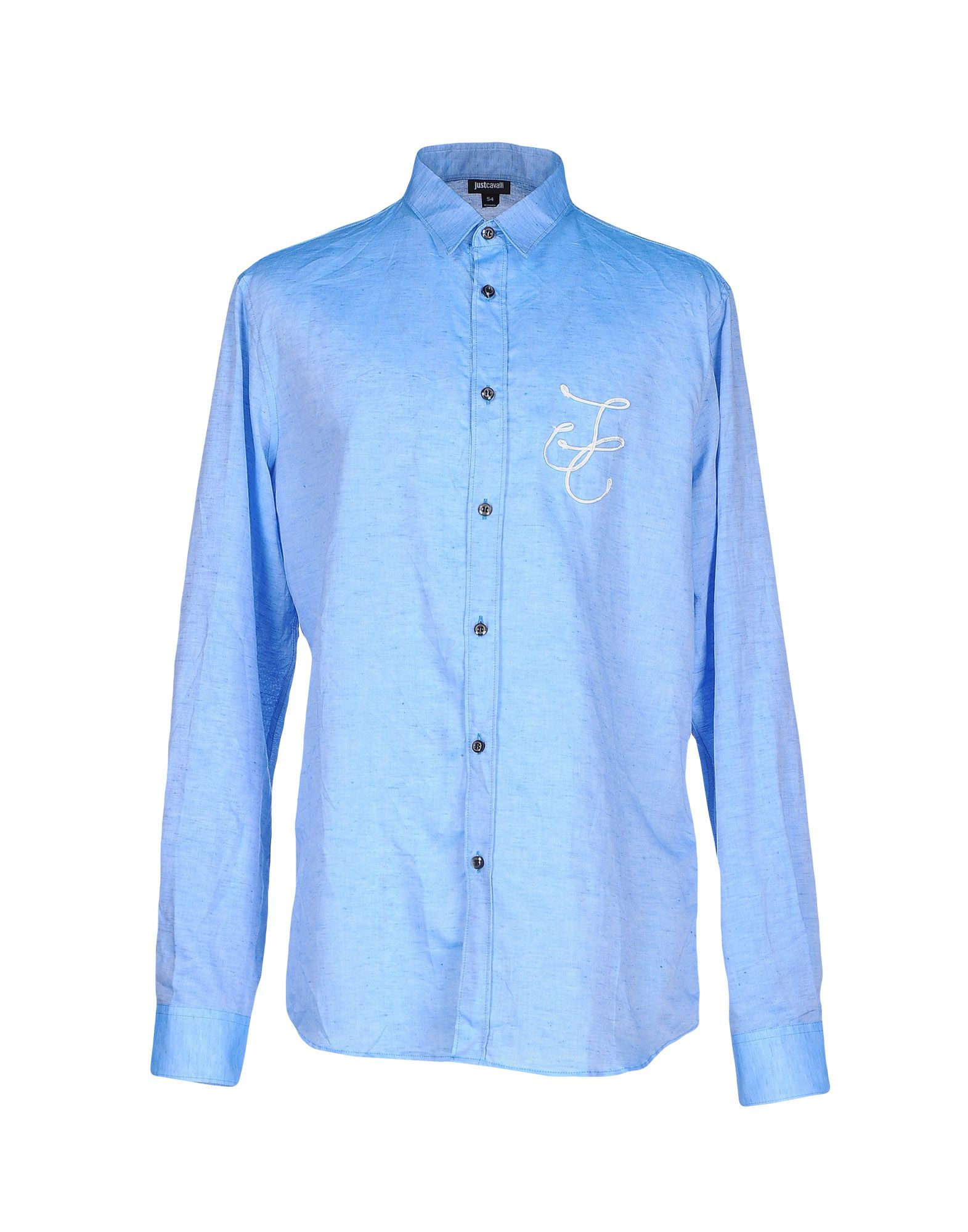 Camicia In Lino Just Cavalli Uomo - Acquista online su