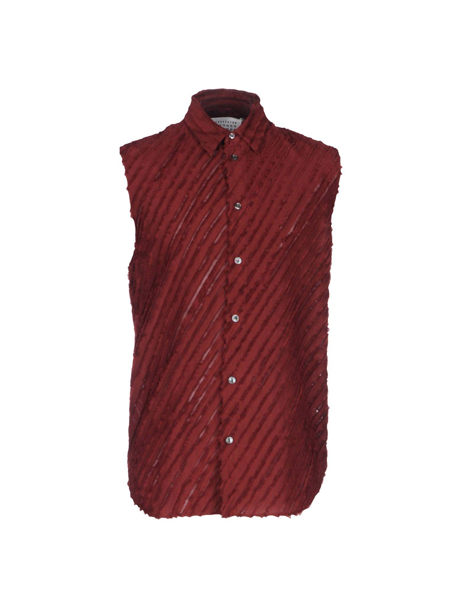 Camicia Tinta Unita Maison Margiela Uomo - Acquista online su