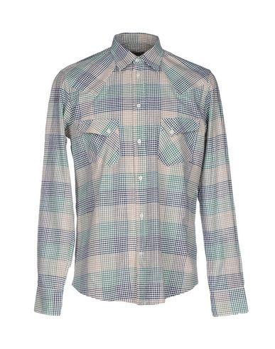Italienere Herrene Rutete Skjorte utløp største leverandøren 100% original online autentisk nyhjT4