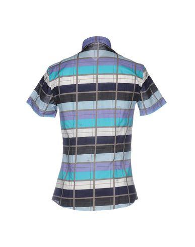 engros-pris billig pris Versace Jeans Couture Rutete Skjorte fabrikkutsalg ebay billig online autentisk for salg mB54M