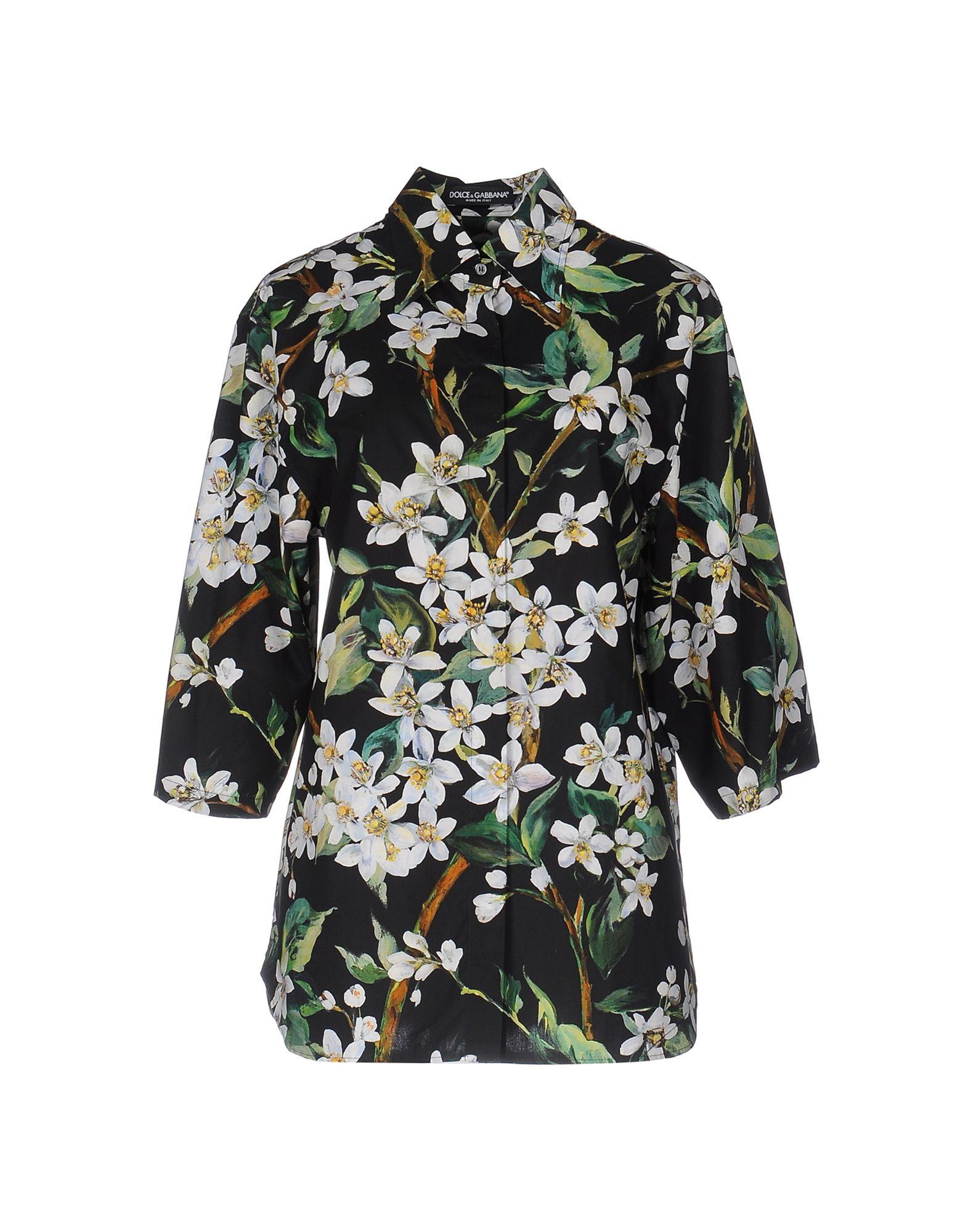Camicie E Bluse A Fiori Dolce & Gabbana Donna - Acquista online su EHWX8