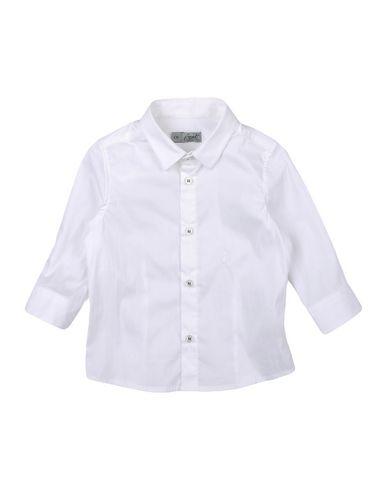 GRANT GARÇON BABY - Solid color shirt