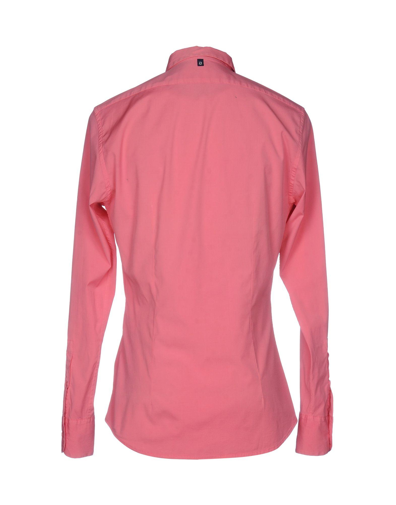 Camicia Tinta Unita Unita Unita Dondup Uomo - 38594652PJ 5c16b4