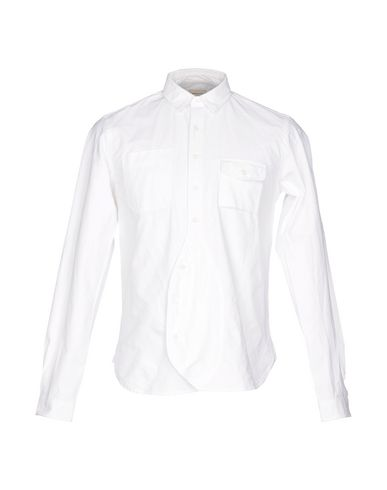 WOOSTER + LARDINI Solid Color Shirt in White