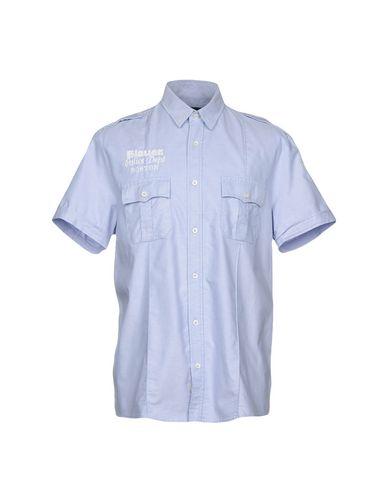 Blauer Plain Skjorte gratis frakt komfortabel uuSae6X