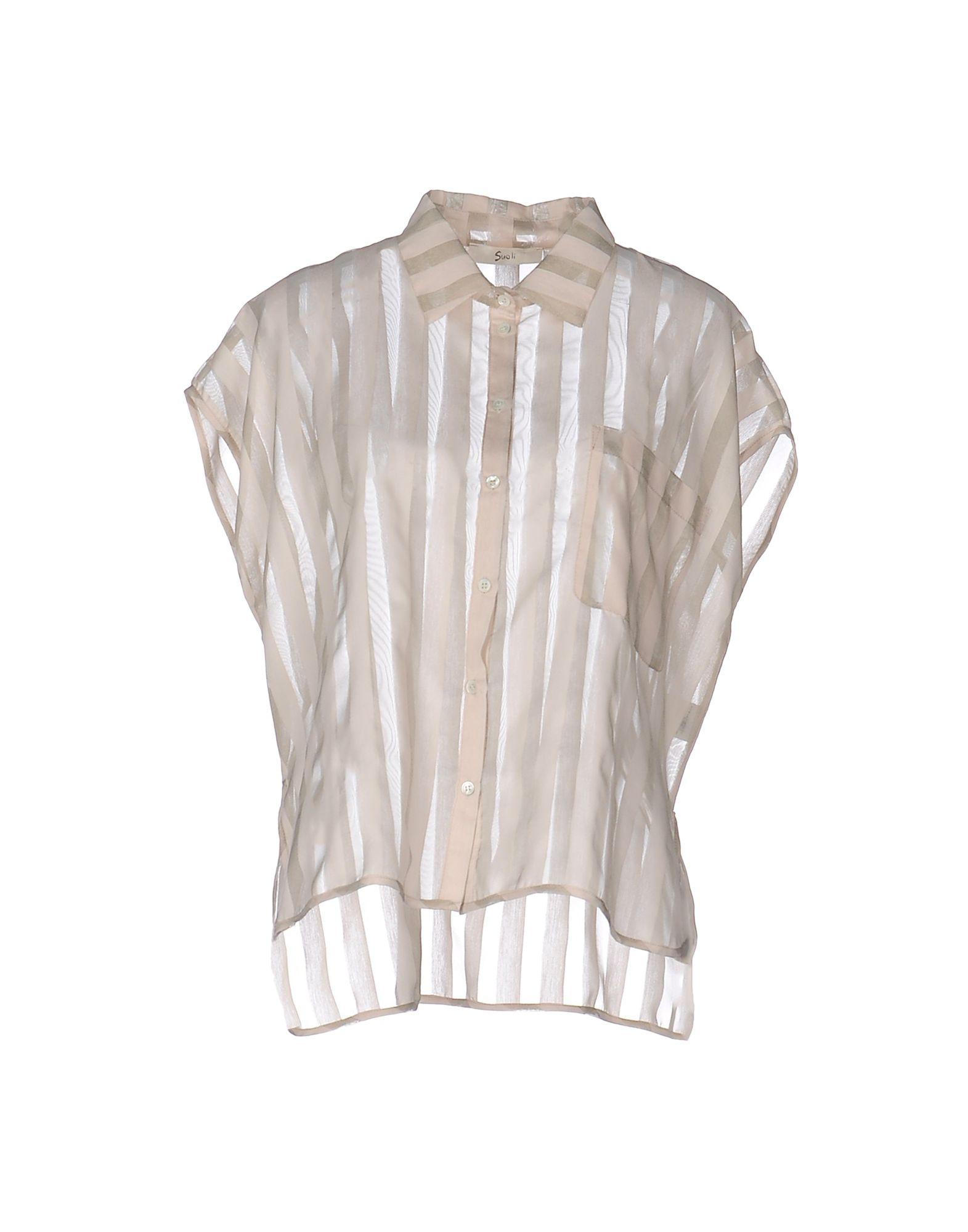 Camicia A Righe Suoli Donna - Acquista online su woDkzI5