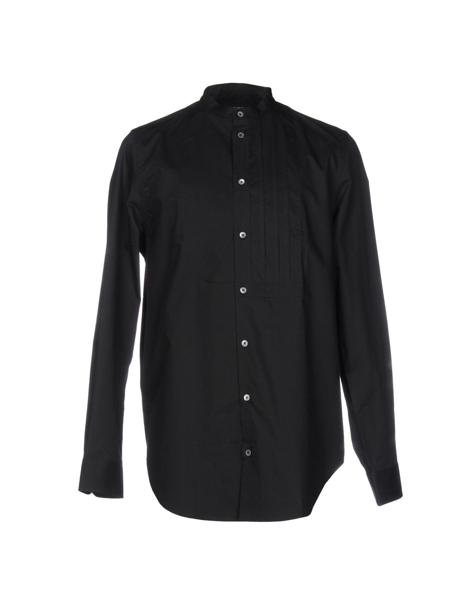 Camicia Tinta Unita Ports 1961 Uomo - Acquista online su