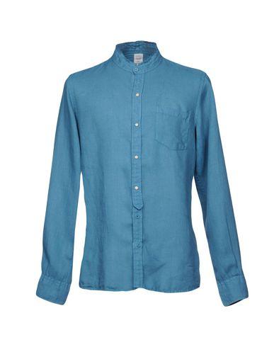 AUTHENTIC ORIGINAL VINTAGE STYLE Linen Shirt in Pastel Blue