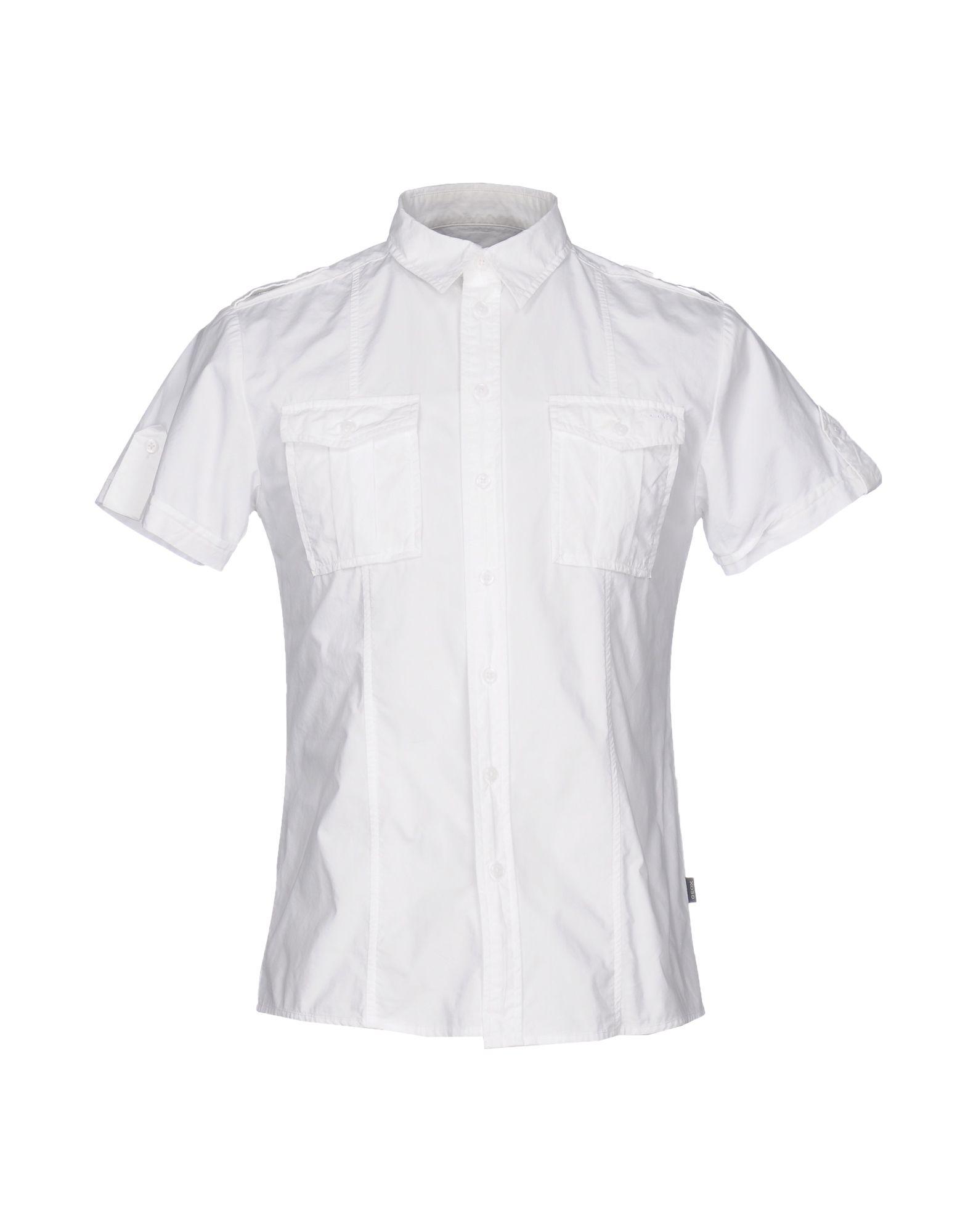 Camicia Tinta Unita Unita Unita Geox Uomo - 38609068OC 34798d