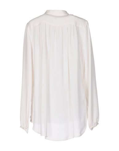 Michael Michael Kors Silk Shirts & Blouses, White