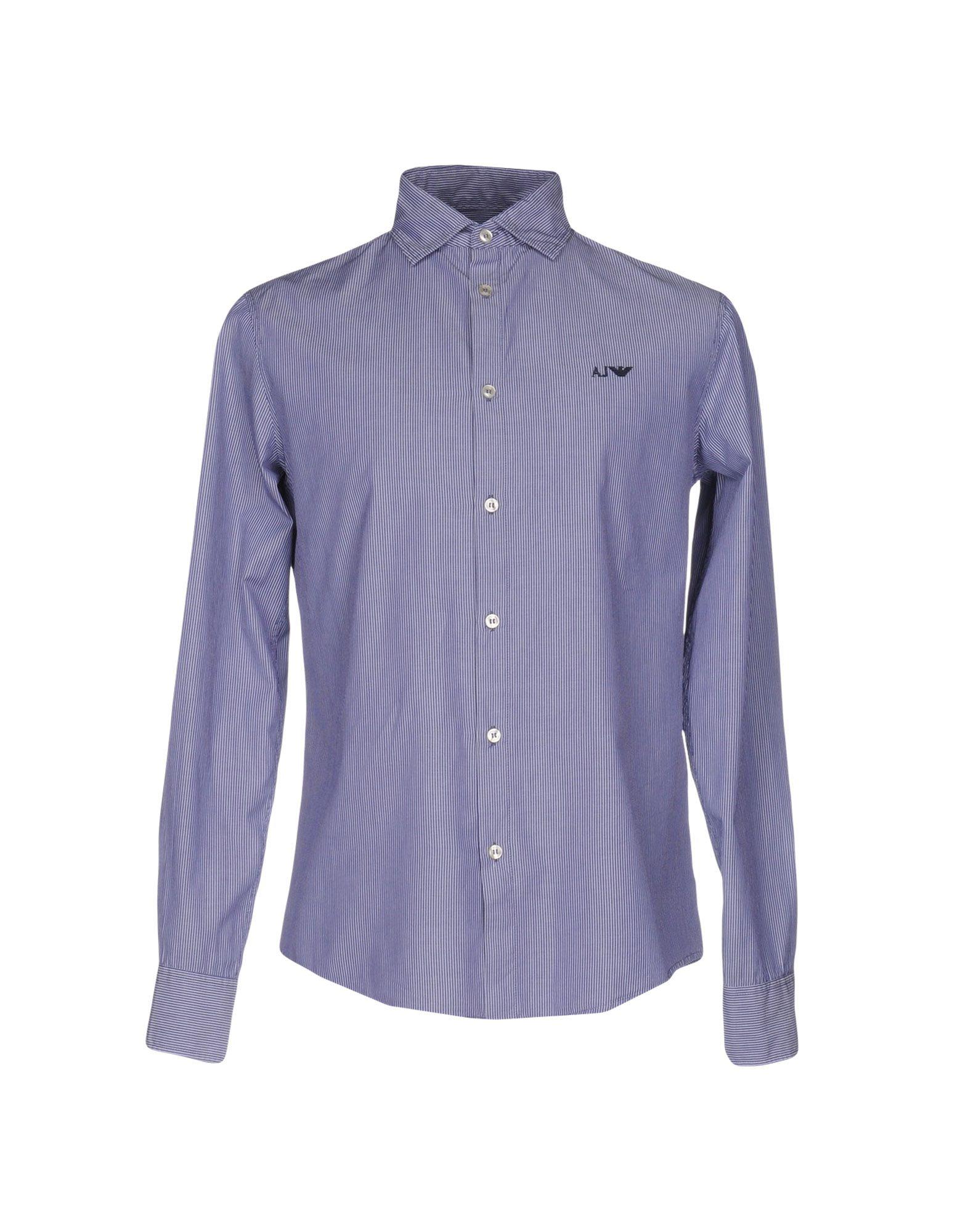Camicia A Righe Armani Jeans Uomo - Acquista online su