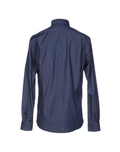 HARRIS & HAROLD STUDIO Einfarbiges Hemd Bunt gefärbt Outlet Kostenloser Versand Authentisch kGzYjVmIi3