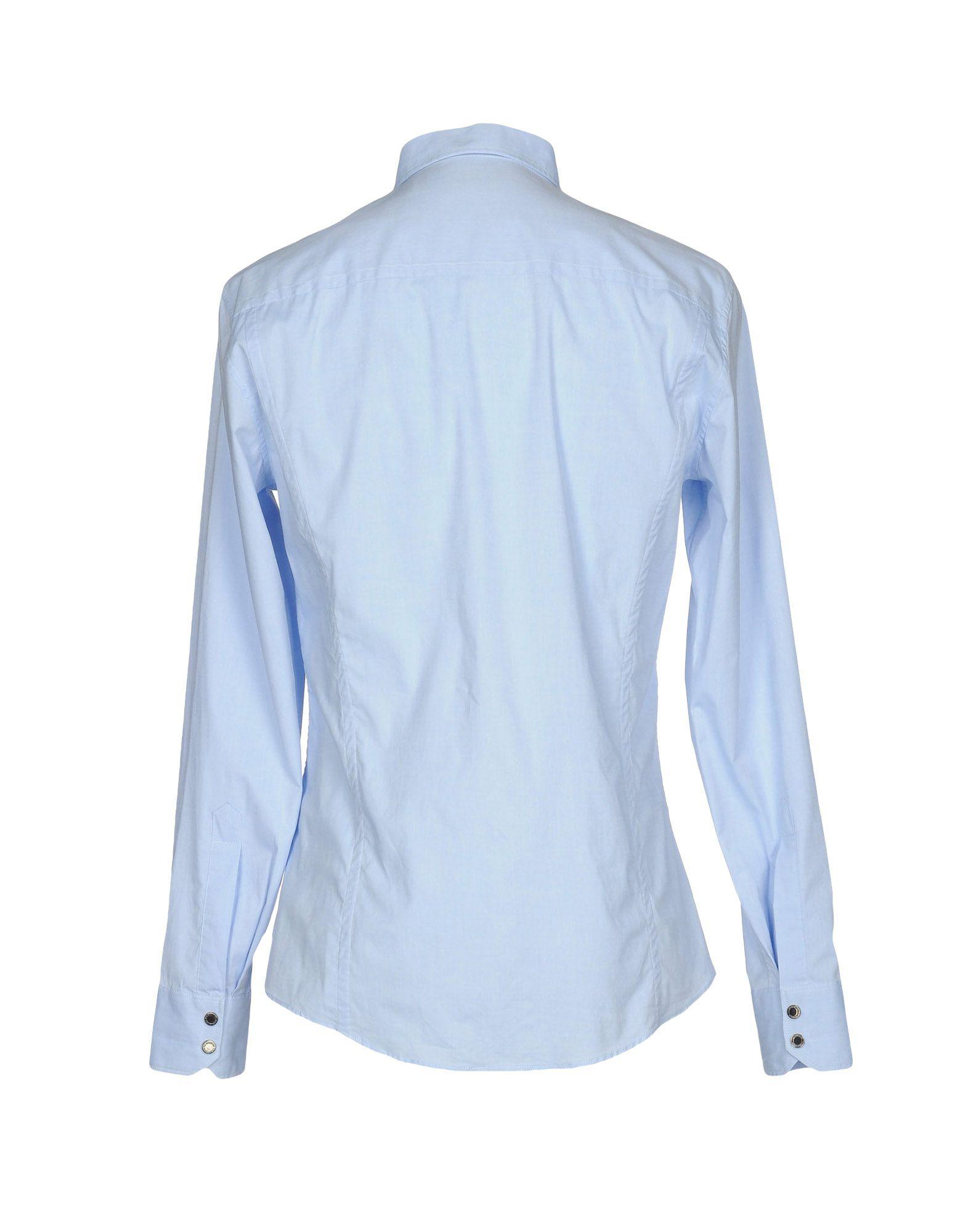 Camicia Tinta Tinta Camicia Unita Dirk Bikkembergs Uomo - 38617934TJ 3863e8