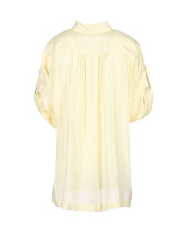 Alberta Ferretti Silk Shirts & Blouses, Light Yellow