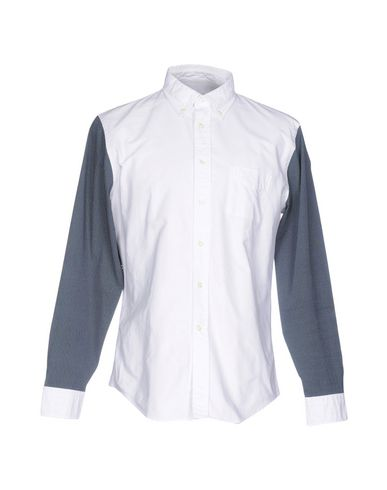 WOOSTER + LARDINI Patterned Shirt in White