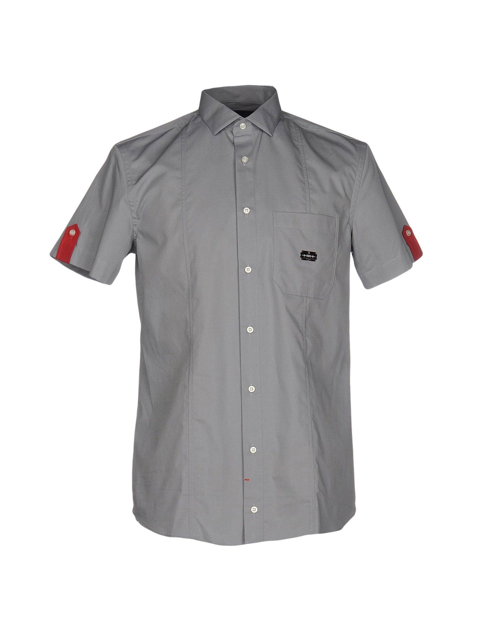 Camicia Tinta Unita Philipp Plein Uomo - Acquista online su