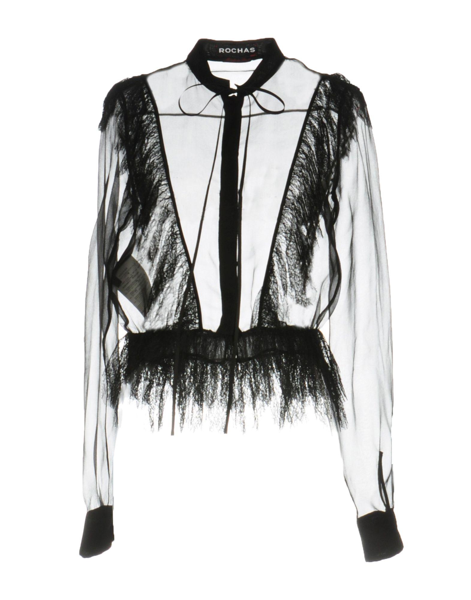 Camicie E Bluse In Pizzo Rochas Donna - Acquista online su QWUzREfYV